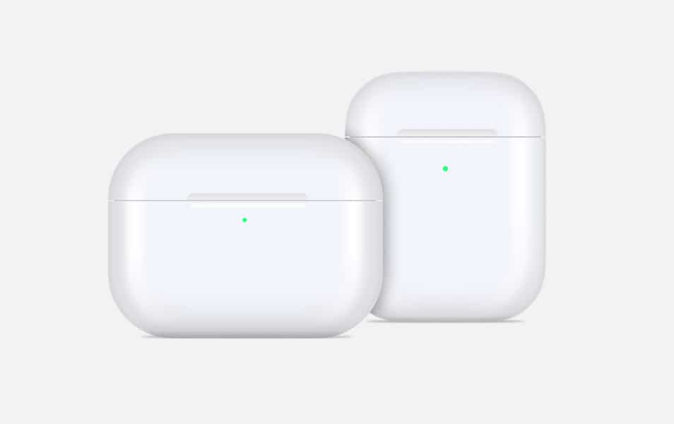Apple AirPods Vector Mockup