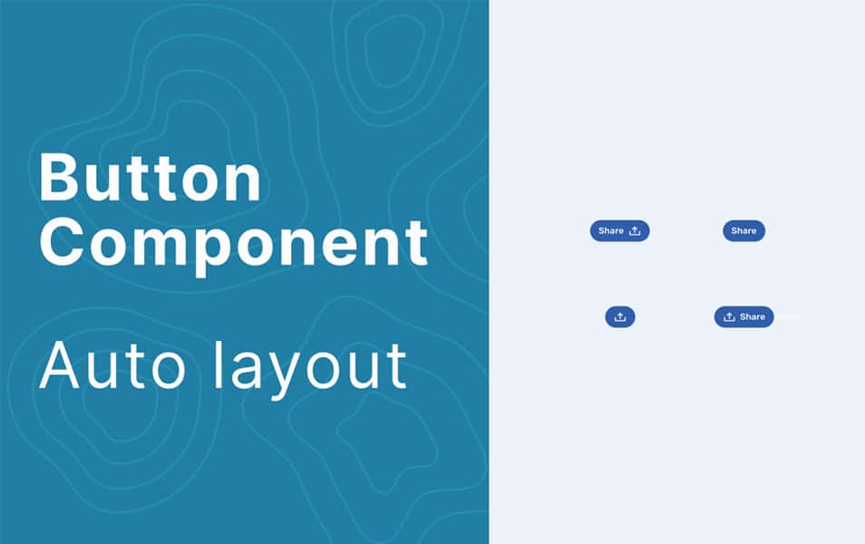 Button Component - Auto layout