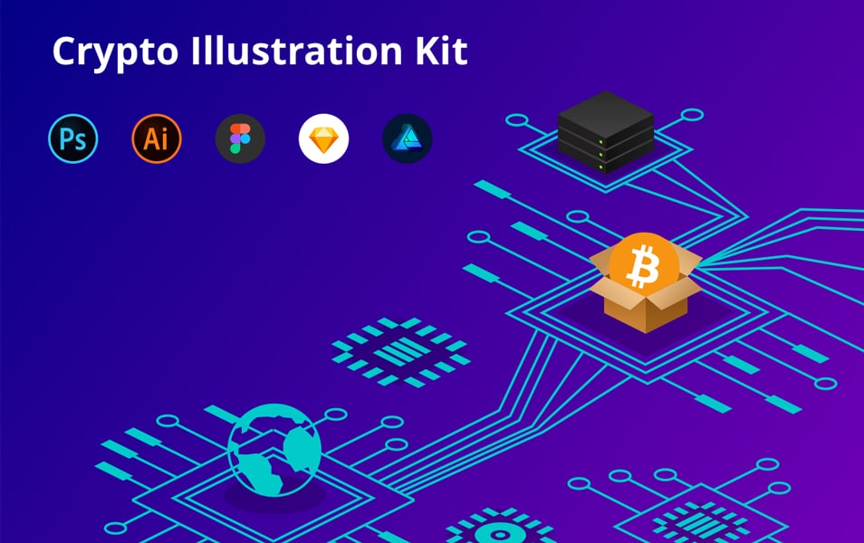 Crypto Illustration Kit