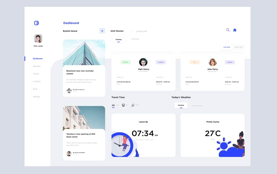 Dashboard Design Figma Template