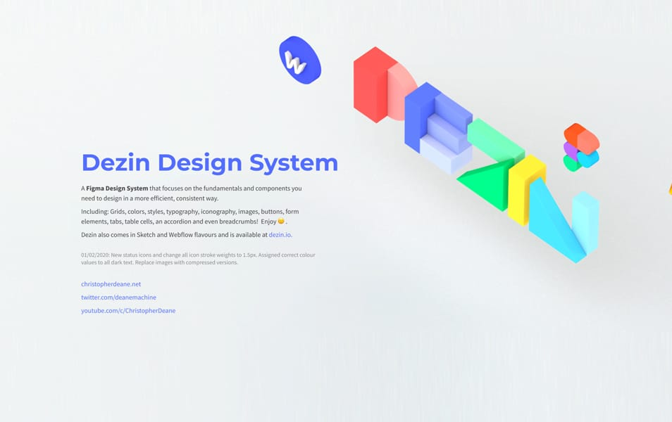 Dezin Design System for Figma