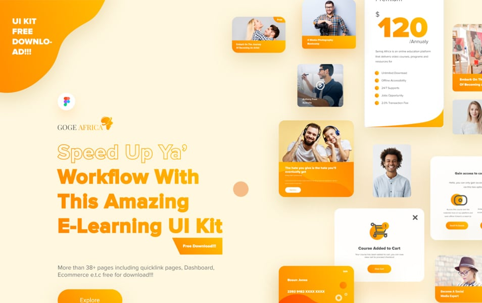 E-learning UI Kit
