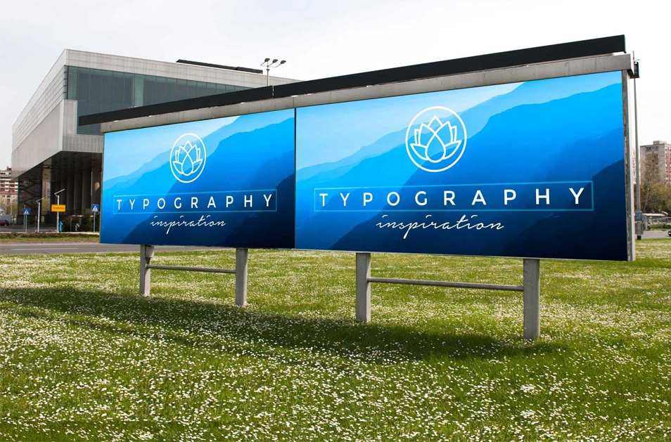 Free Big Company Billboard Mockup