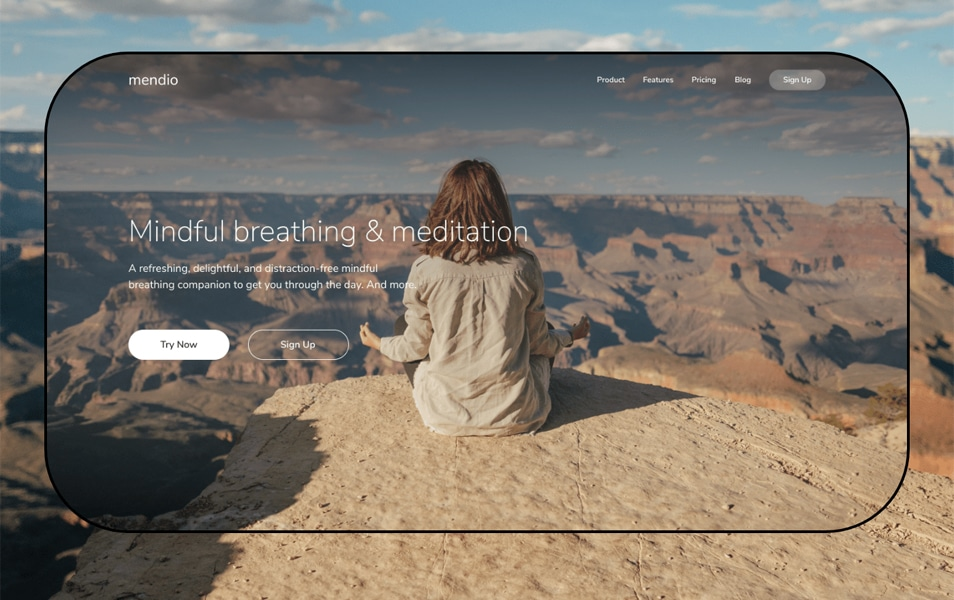 Free Landing Pages Template