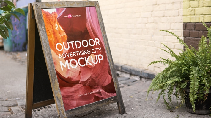 Free Outdoor Advertising City MockUps