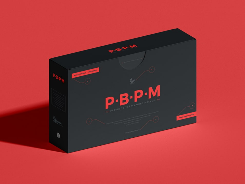 Free PSD Product Box Packaging Mockup