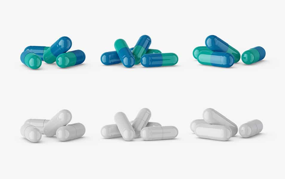 Free Pharmaceutical Pills Mockup