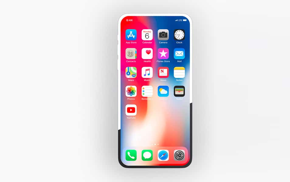 Free Vector iPhone X Mockup for Figma