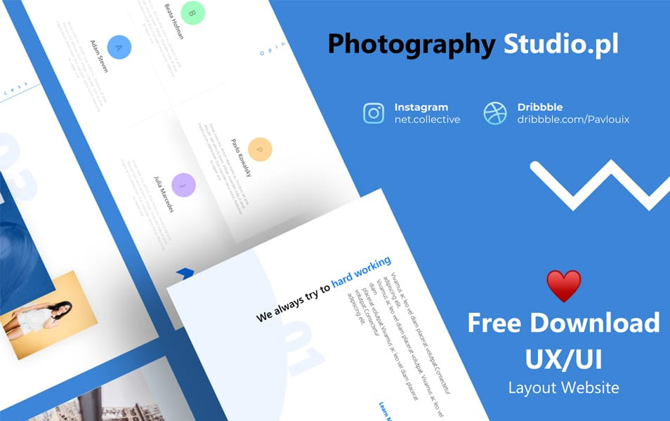 Free Web Layout Template