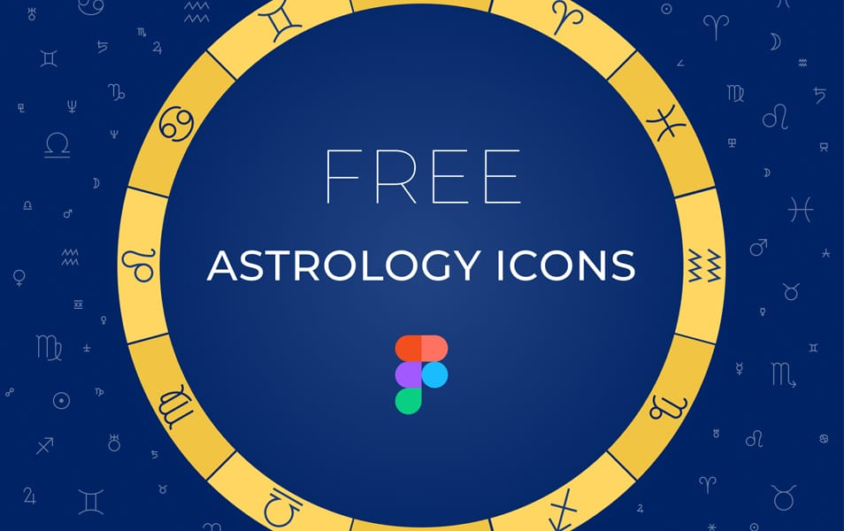 Free Astrology Signs in Figma