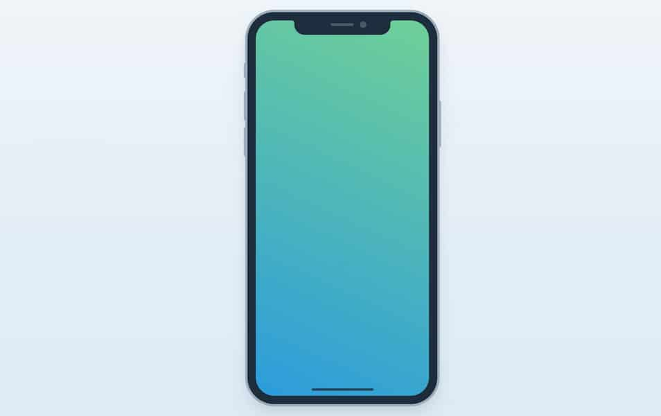 Freebie iPhone X Mockup for Figma