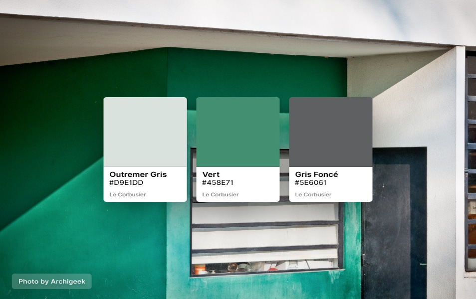 Le Corbusier Colours