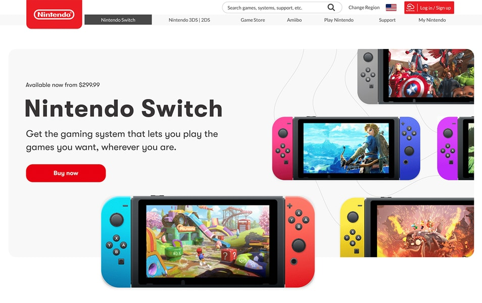 Nintendo Switch Order Interface Redesign