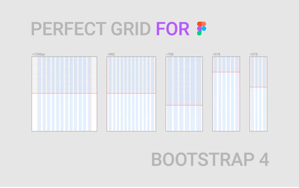 Perfect 8pt Bootstrap Grid For Figma