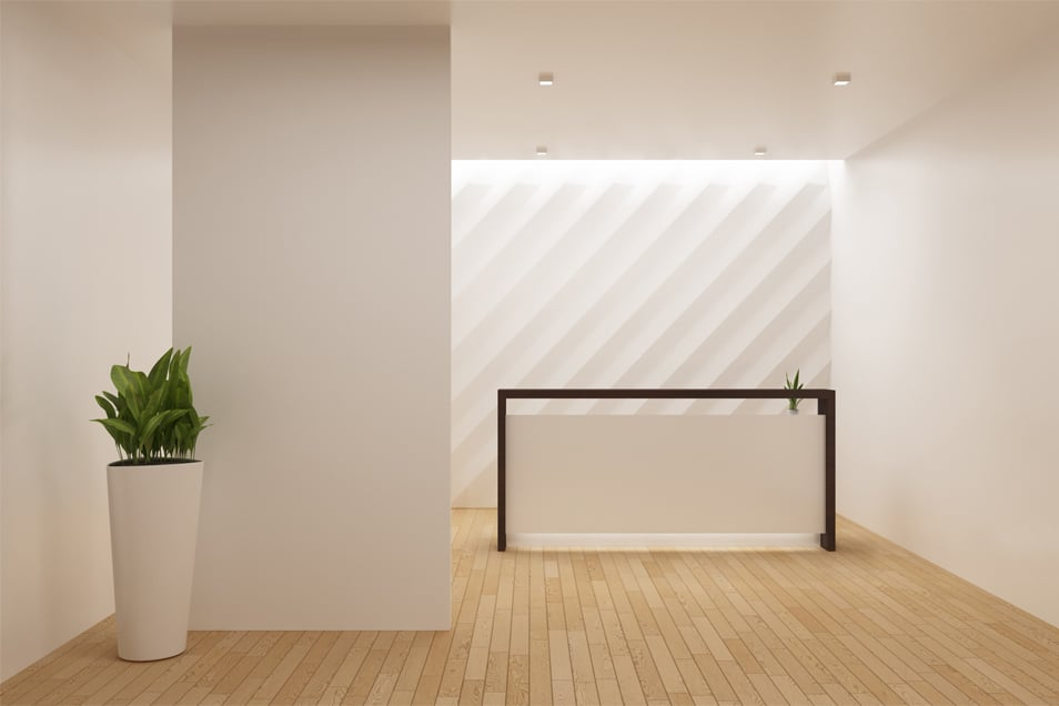 Reception Wall Mockup