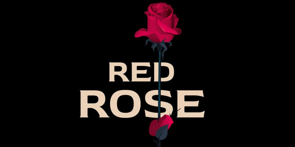 Red Rose Typeface