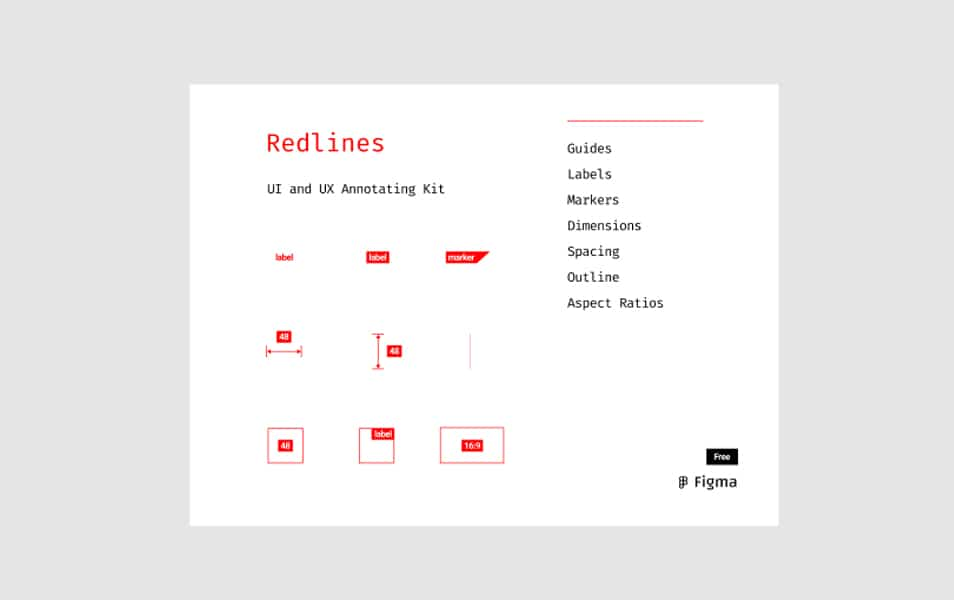 Redlines Annotating Kit