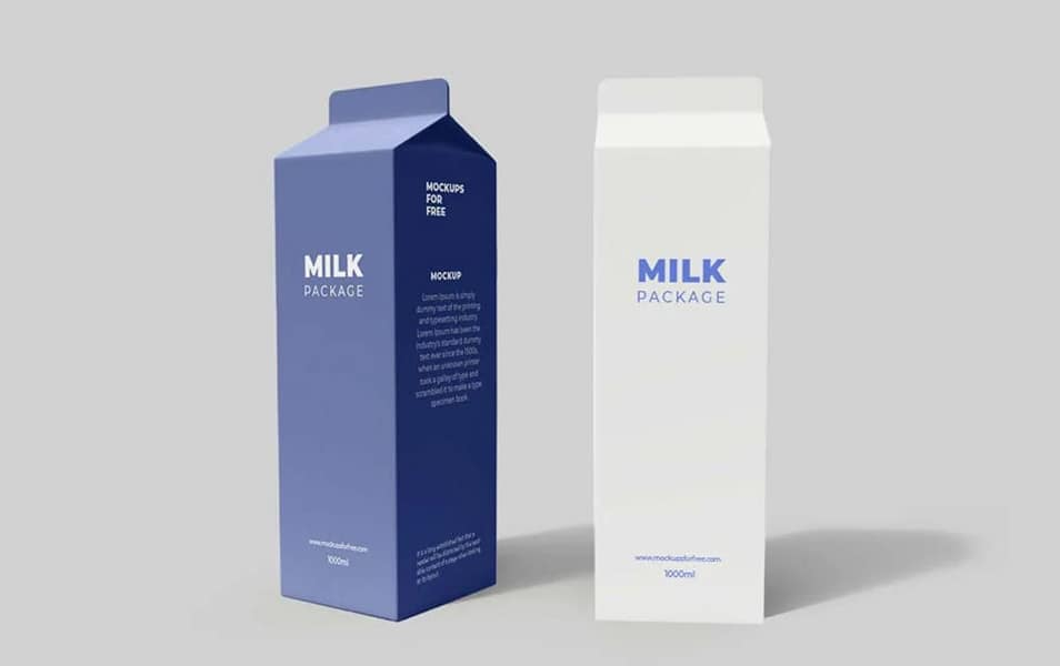 Tetra Pack Packaging Mockup