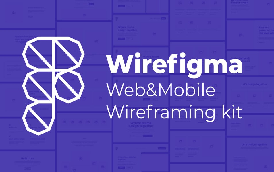 Wirefigma - Web & Mobile Wireframe Kit