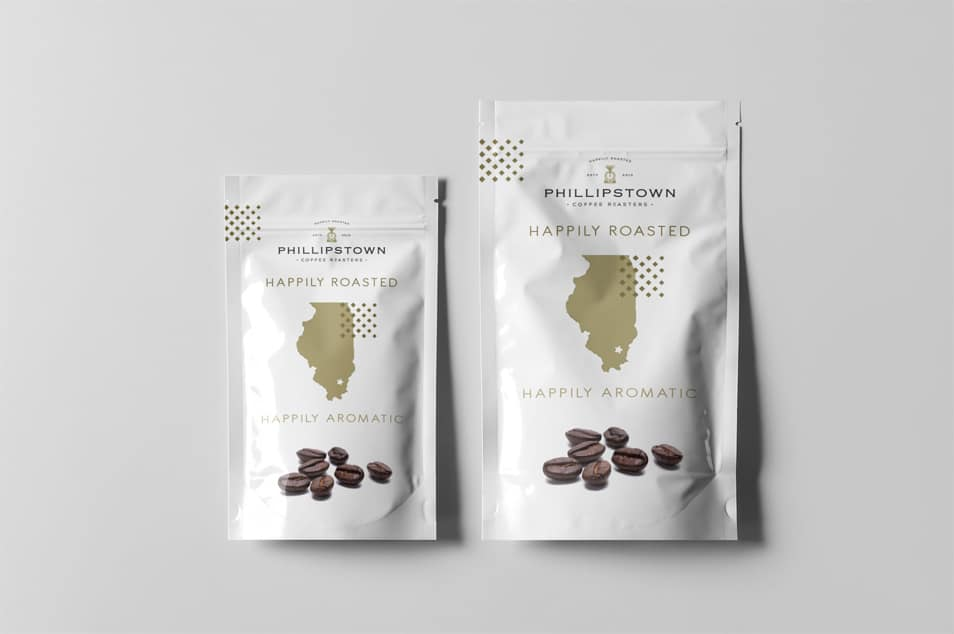 Free Prime Coffee Label Design Template
