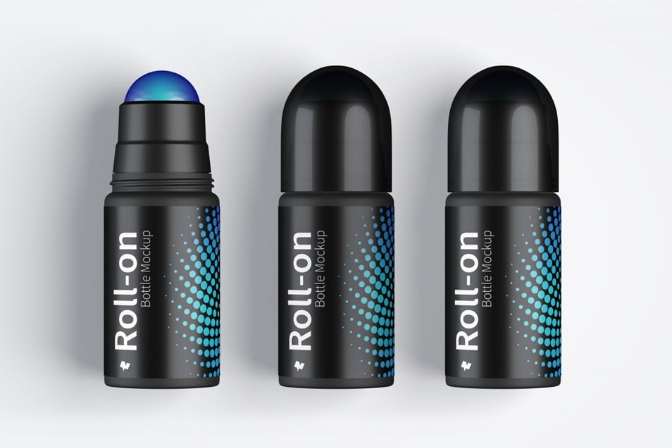 Roll-On Bottle Mockup