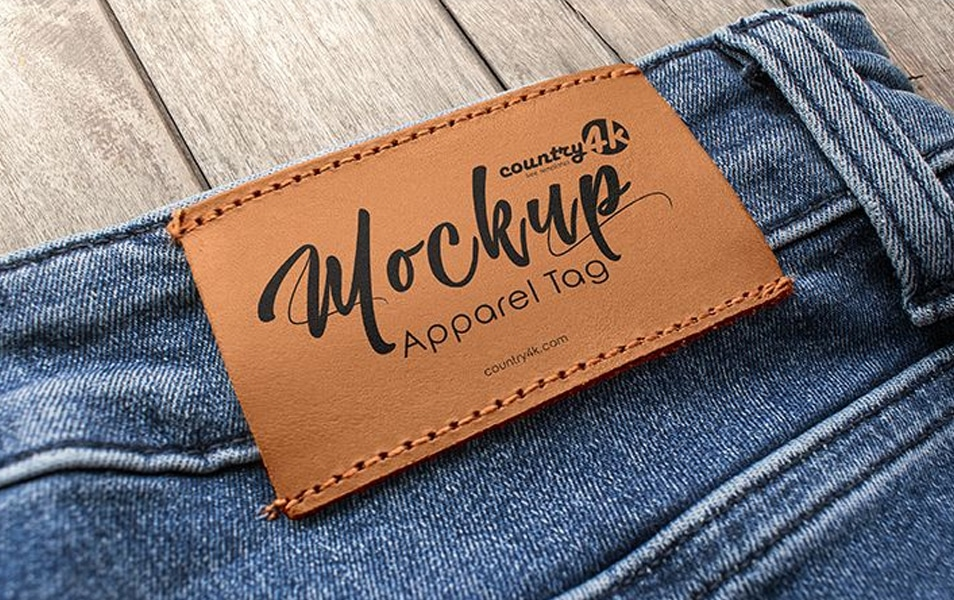 2 Free Apparel Tag MockUps