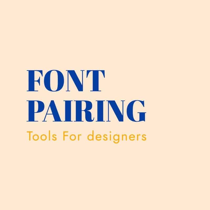 Remarkable New Font Pairing Tools for Designers 2