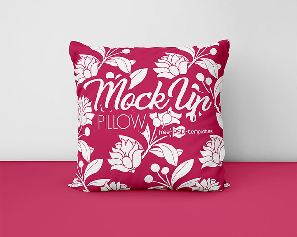 Free Pillows Mockups