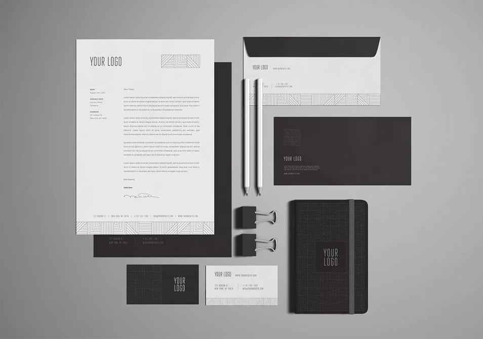 Free Stationery / Branding Mock-Up