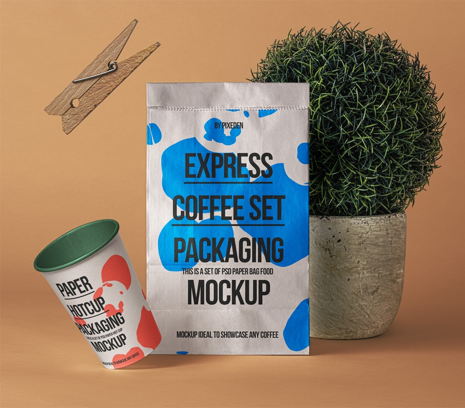 PSD Paper Bag Mockup Showcase