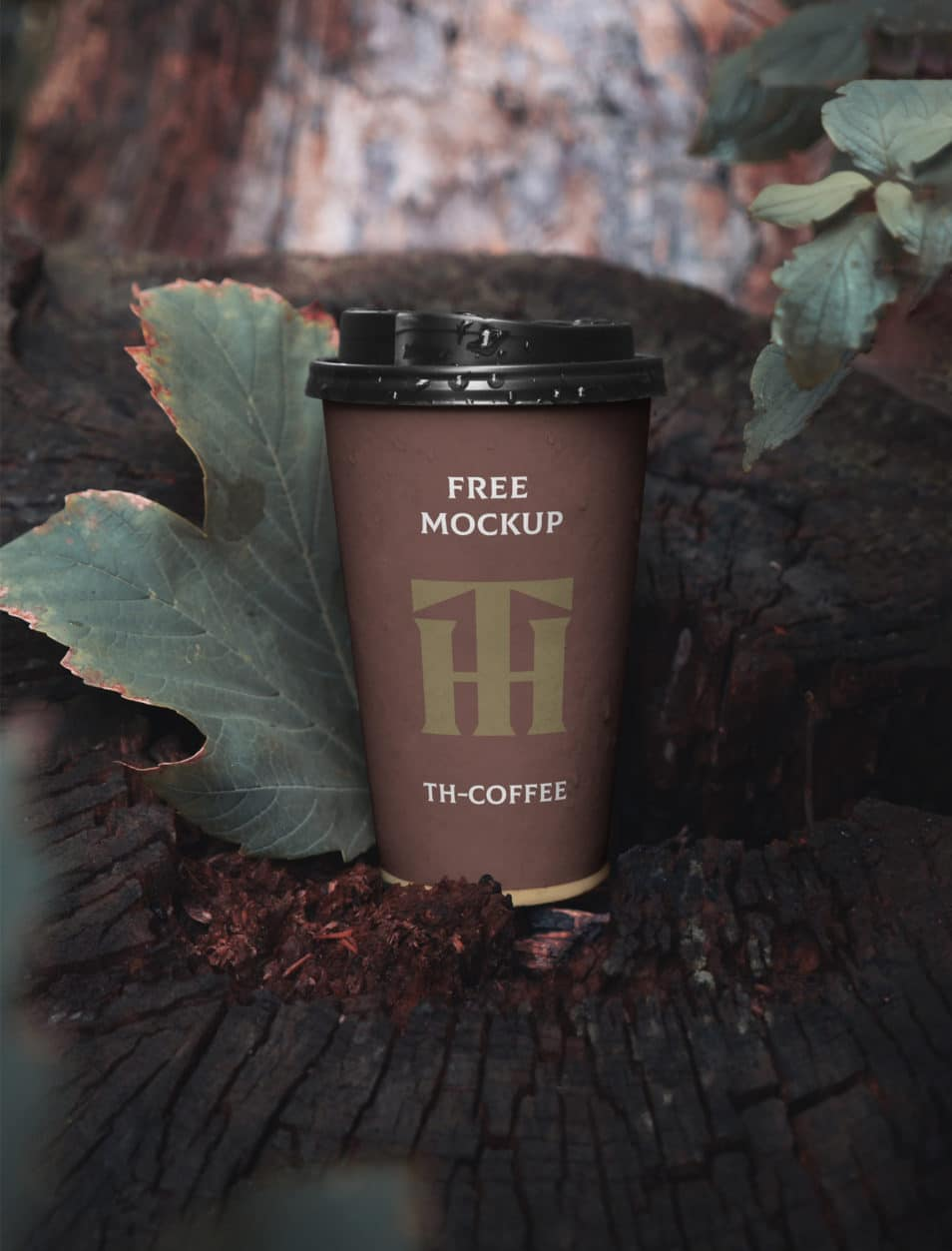 Paper Cup PSD Mockup