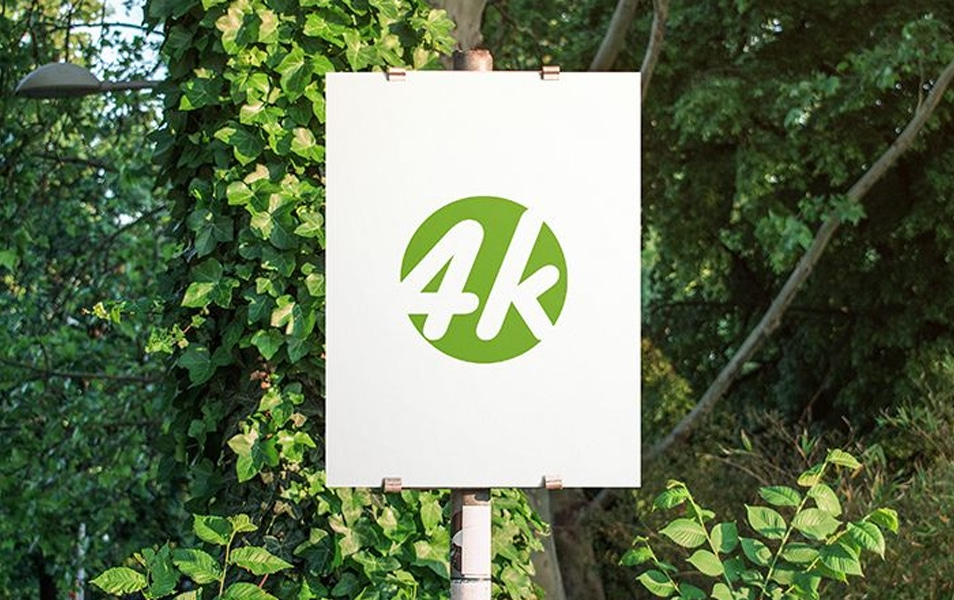 Free Outdoor Sign v02 MockUp