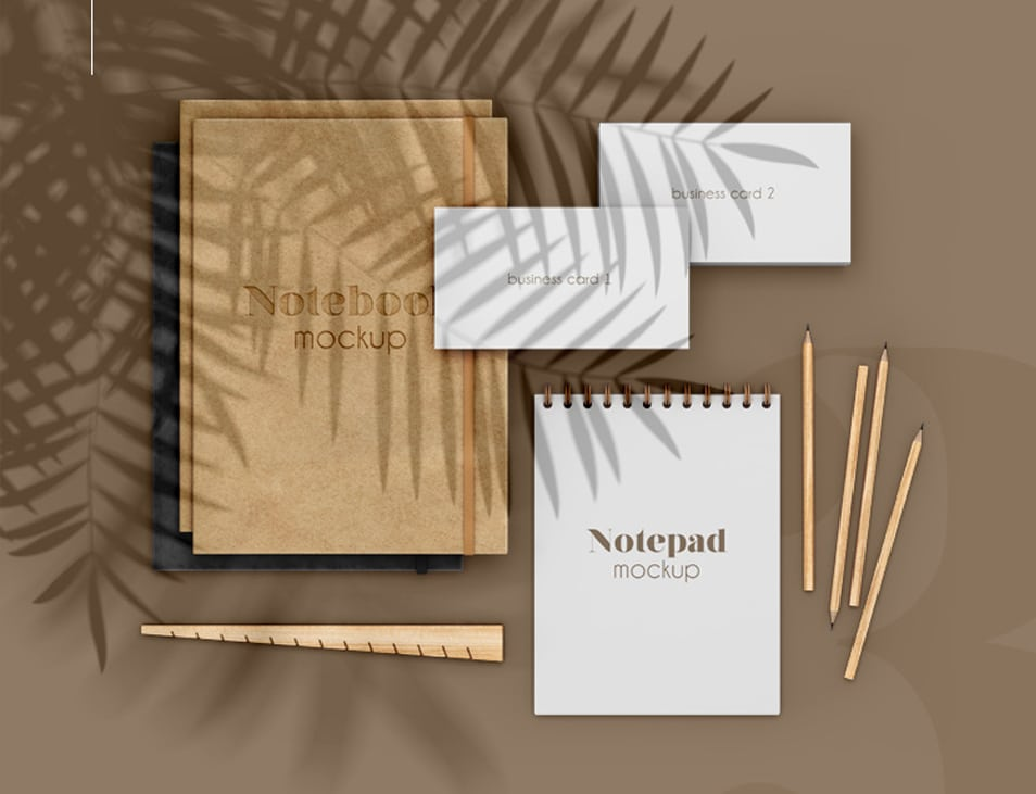 Free Stationary Scene Mock-ups in PSD