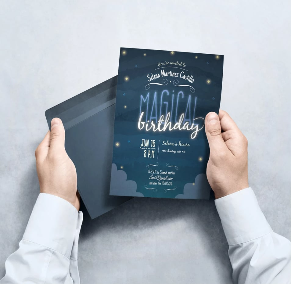 Invitation Mockup Templates
