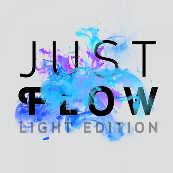 Just Flow - Text Effect Mockup Template