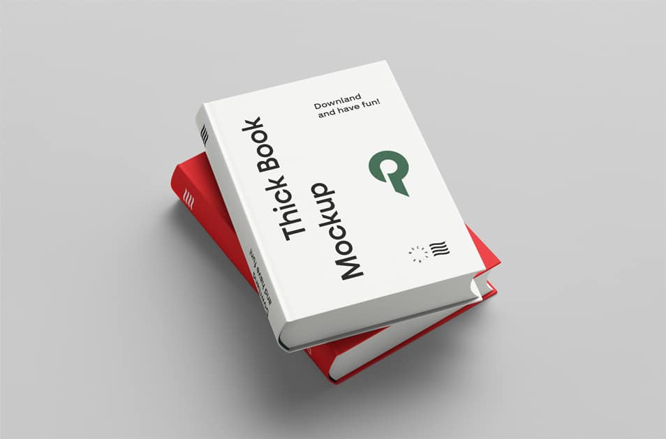 Two Books Mockup