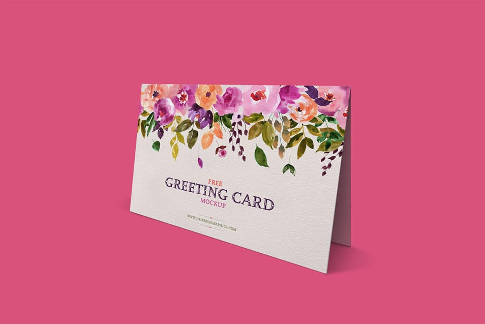 Lovely Greeting Card Mockup