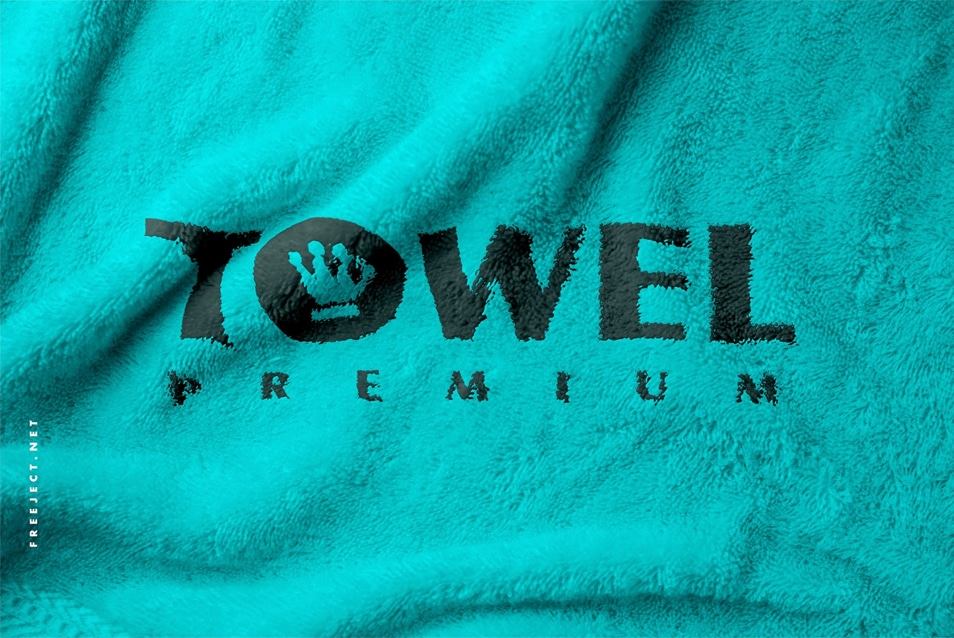 Towel Mockup PSD Template