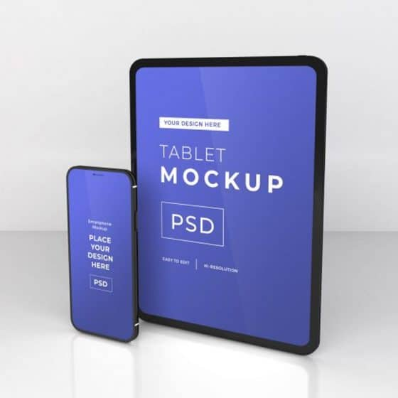 iPad & iPhone Mockup