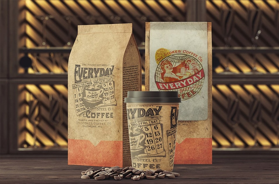 Coffee Maniac Mockup Set
