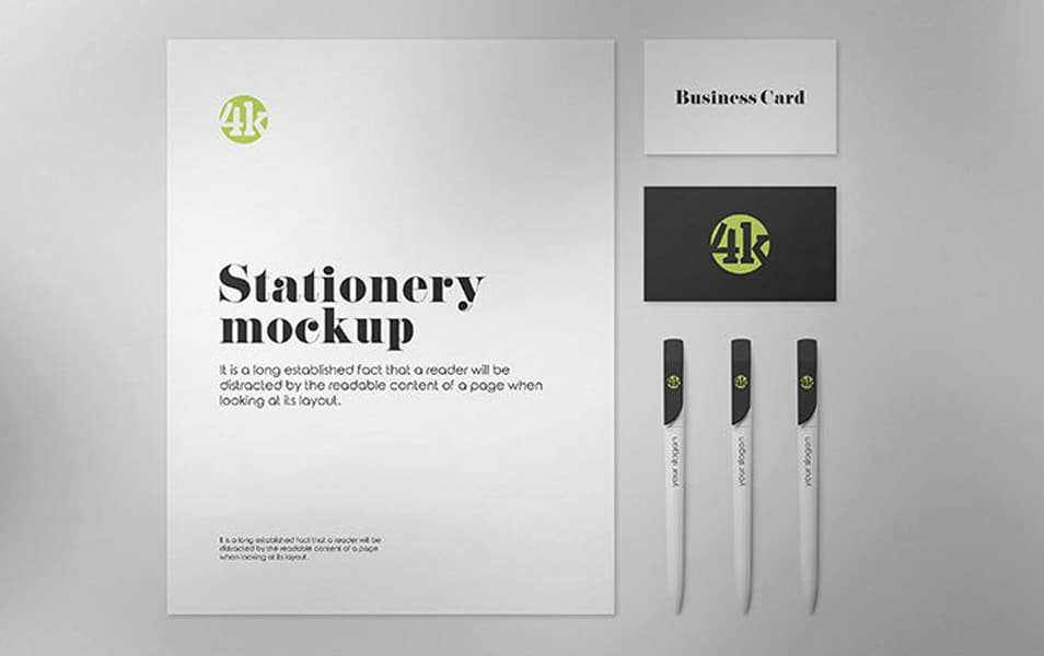 Free US Stationery Mockups