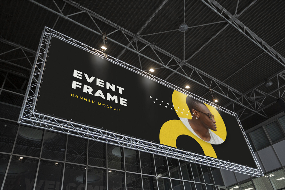 Event Billboard Mockup