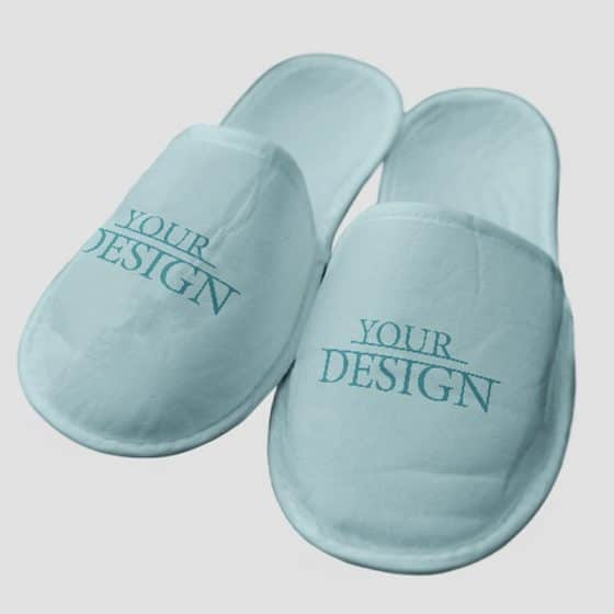 Free PSD Slippers Mockup Set