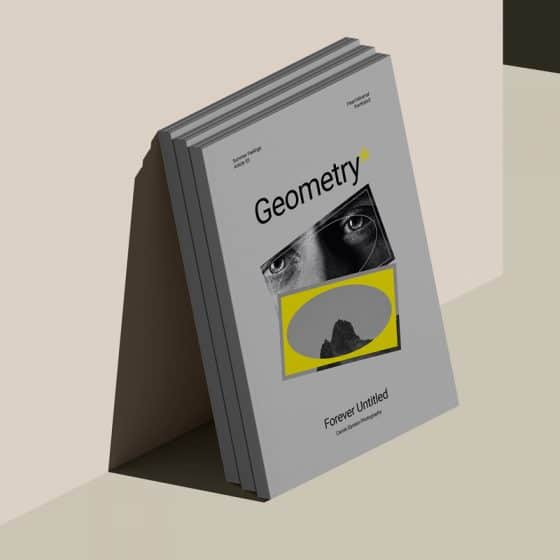 A4 Cover Magazine Against The Wall Isometric