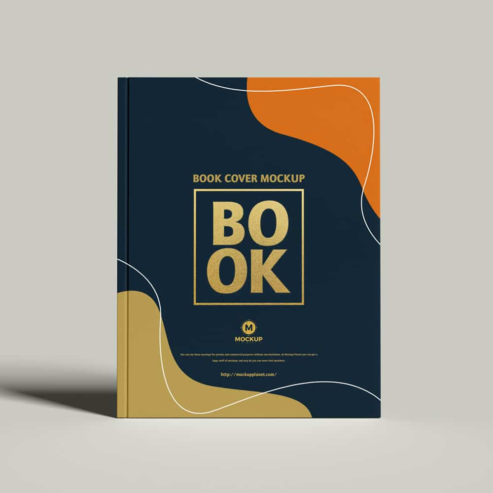 Free Cover Branding Book Mockup Design