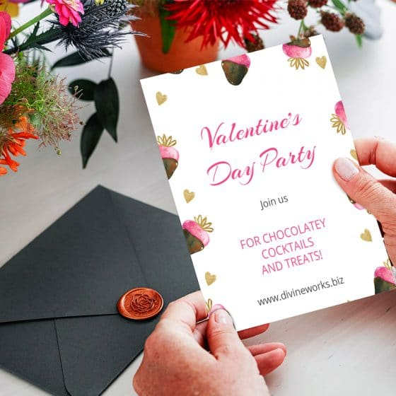 Free Invitation Card Mockup PSD