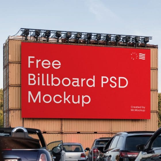 Big Billboard PSD Mockup