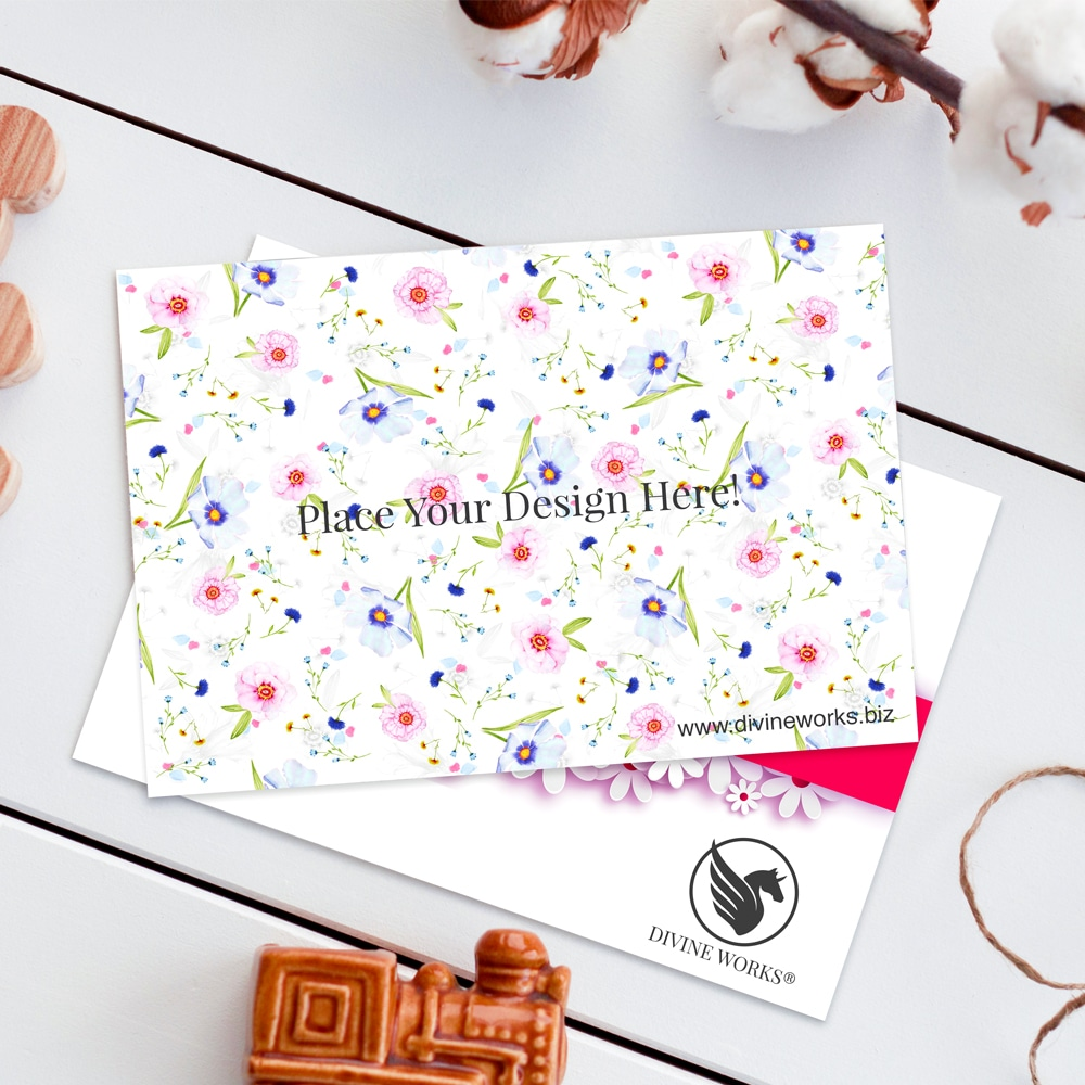 Free Greeting Cards Mockup PSD
