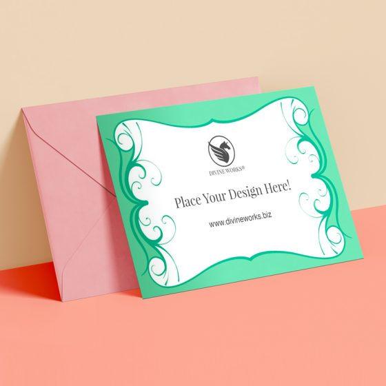 Free Invitation Card Mockup Mockup PSD