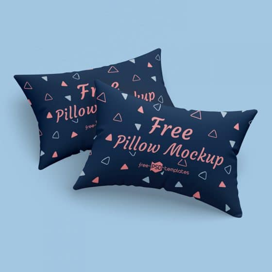 Free Pillows Mockup Template in PSD